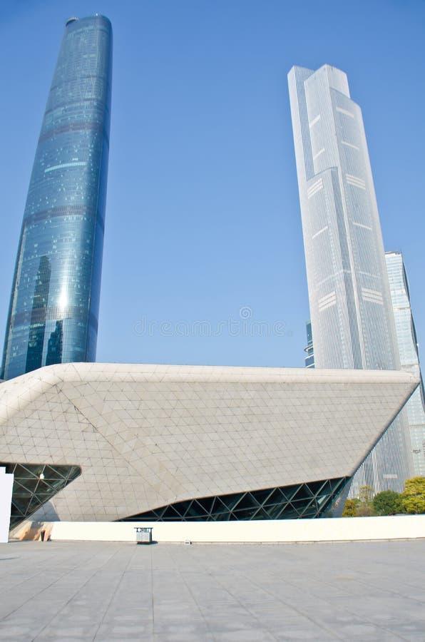 небоскребы guangzhou стоковые фотографии rf
