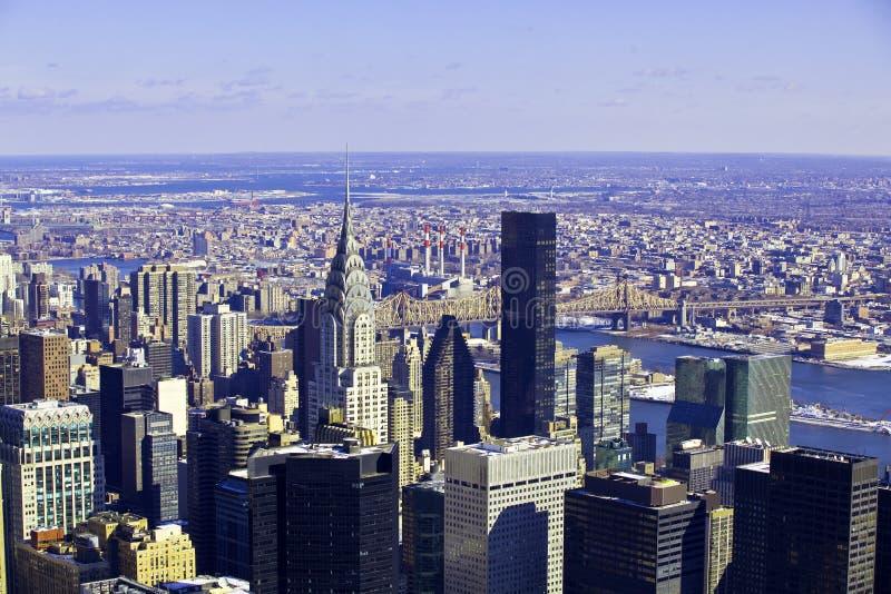 небоскребы york архитектурноакустического города новые стоковое фото