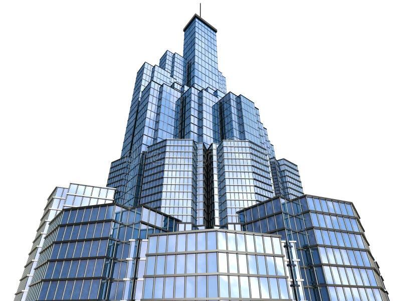 небоскреб Высок-техника иллюстрация штока
