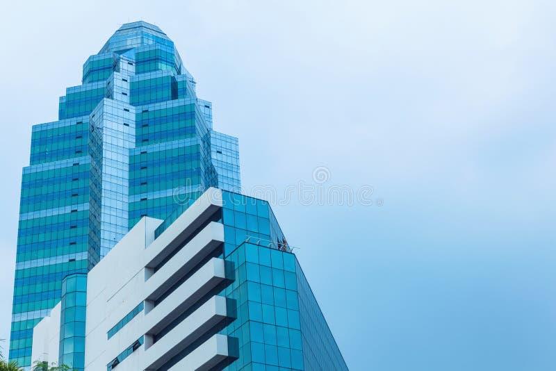 небоскреб дела здания высокий самомоднейший стоковая фотография