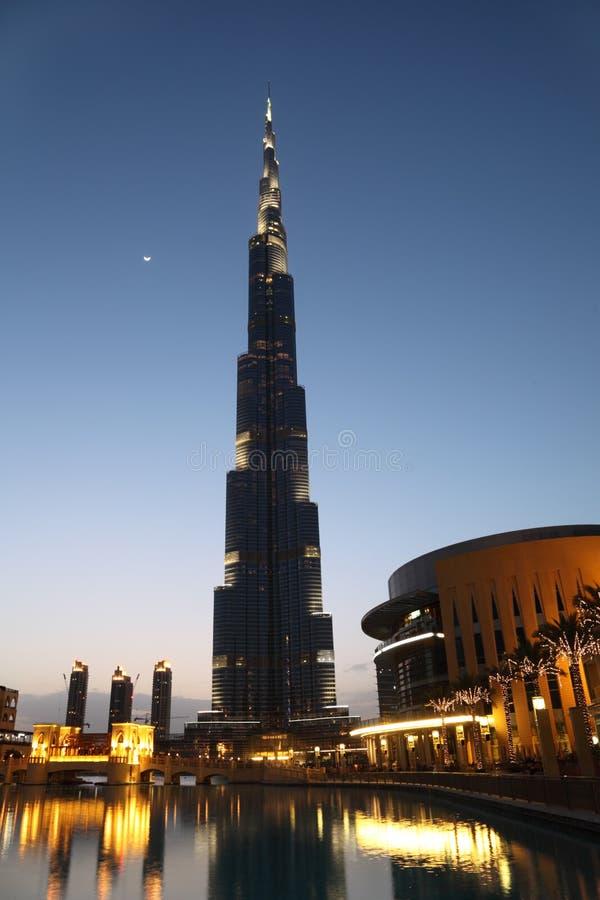 небоскреб ладоней Дубай burj зоны стоковые фото