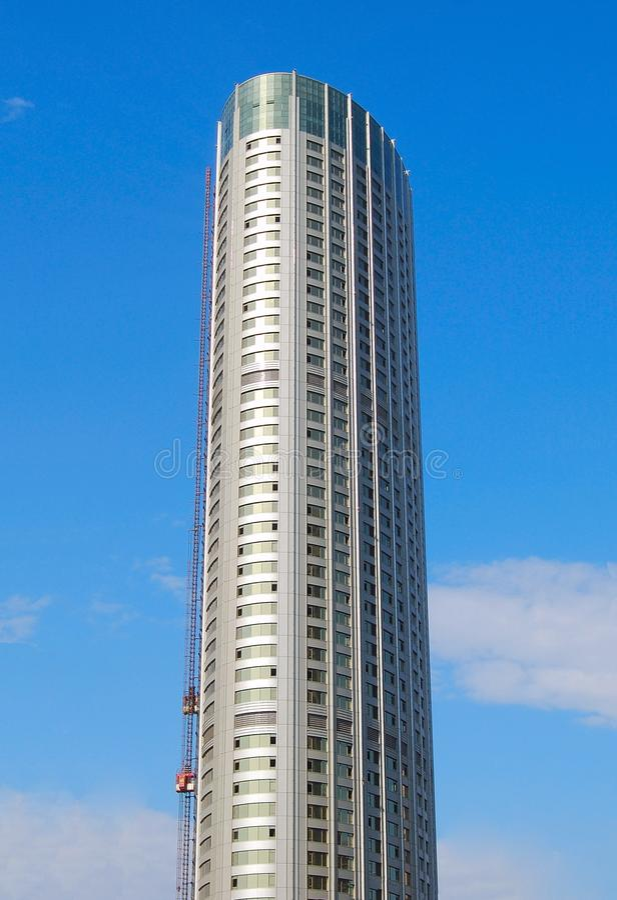 небоскреб dalian фарфора стоковое фото rf