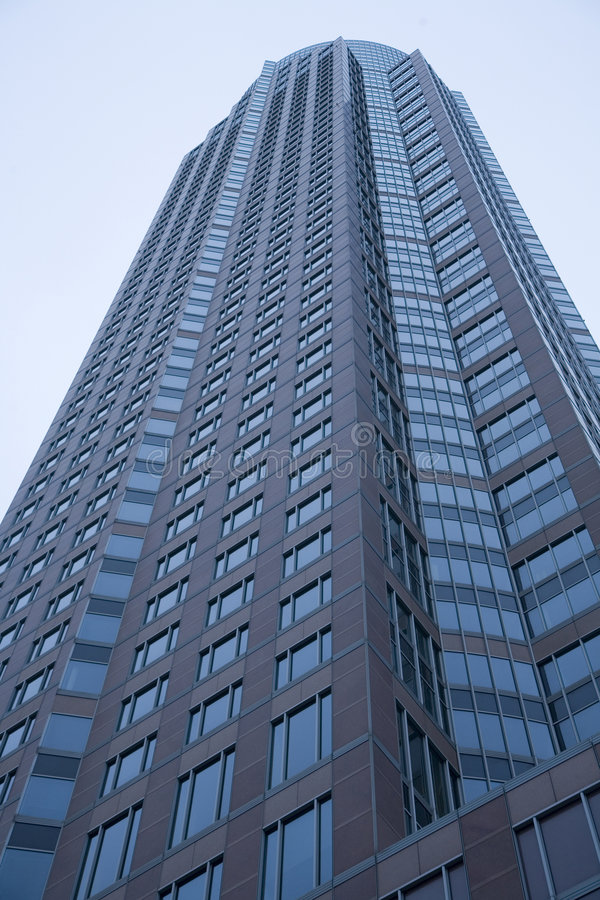 небоскреб frankfurt стоковое изображение rf