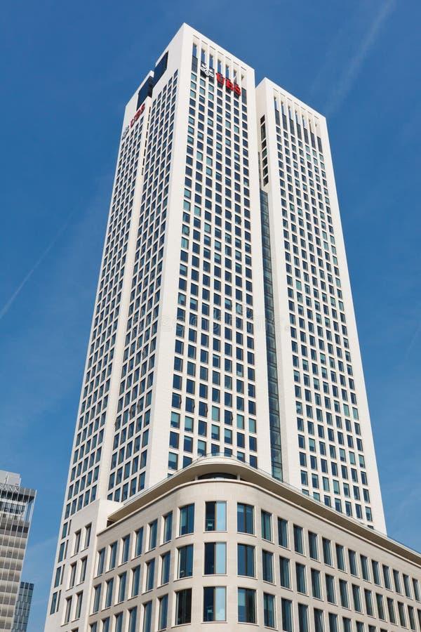 небоскреб opernturm frankfurt Германии стоковая фотография rf