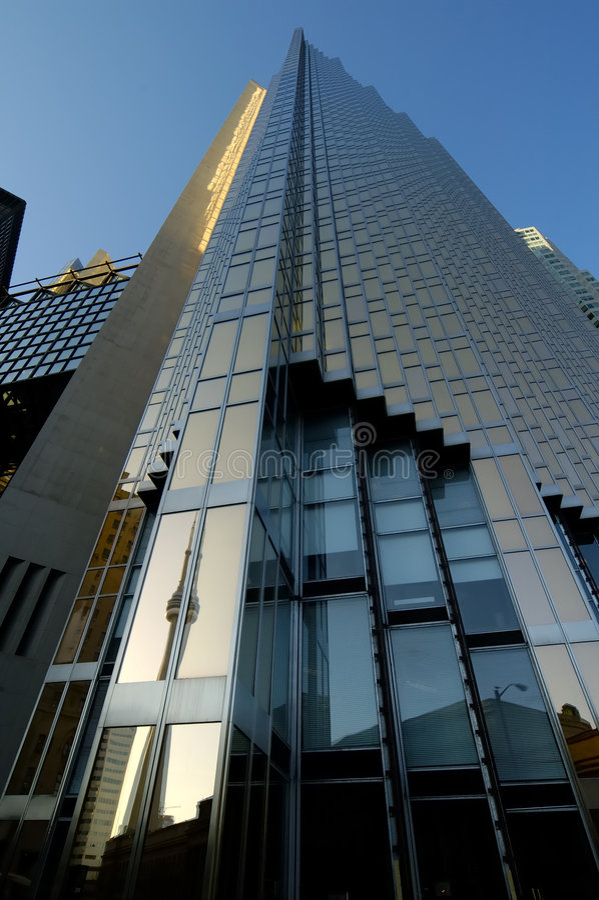небоскреб toronto стоковое фото rf