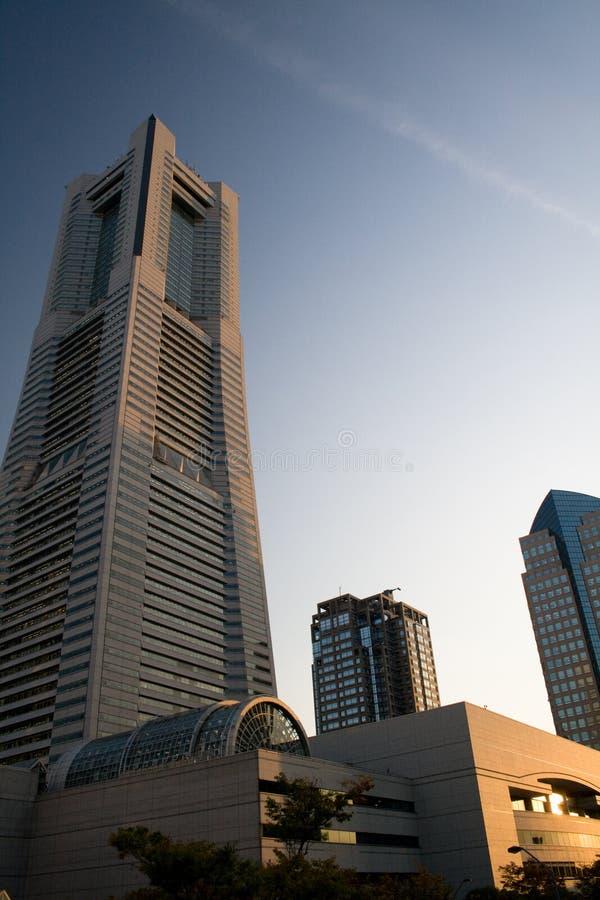 небоскреб yokohama стоковая фотография
