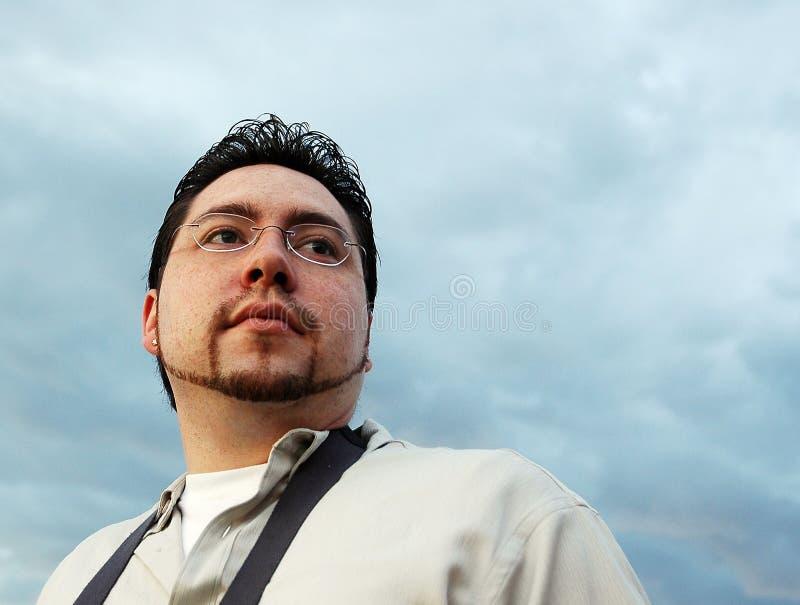 небо бизнесмена стоковые фото