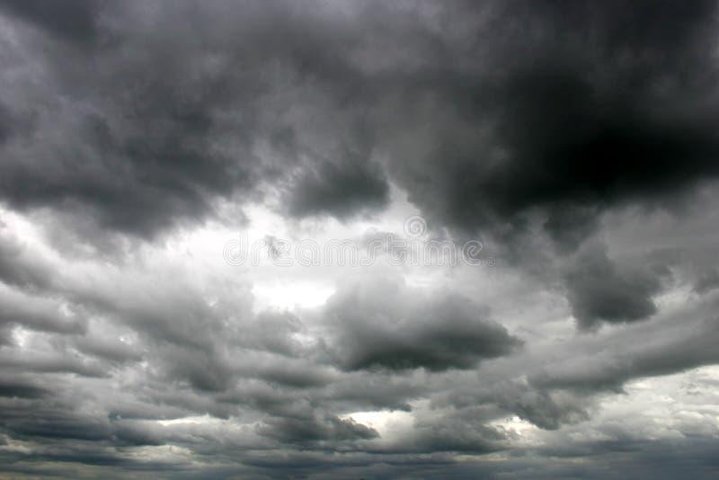 небо бурное стоковые фото