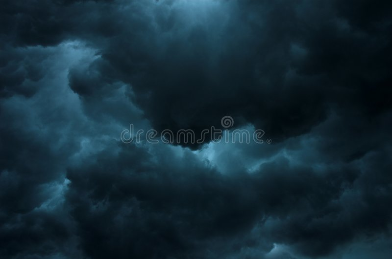 небо бурное стоковое изображение