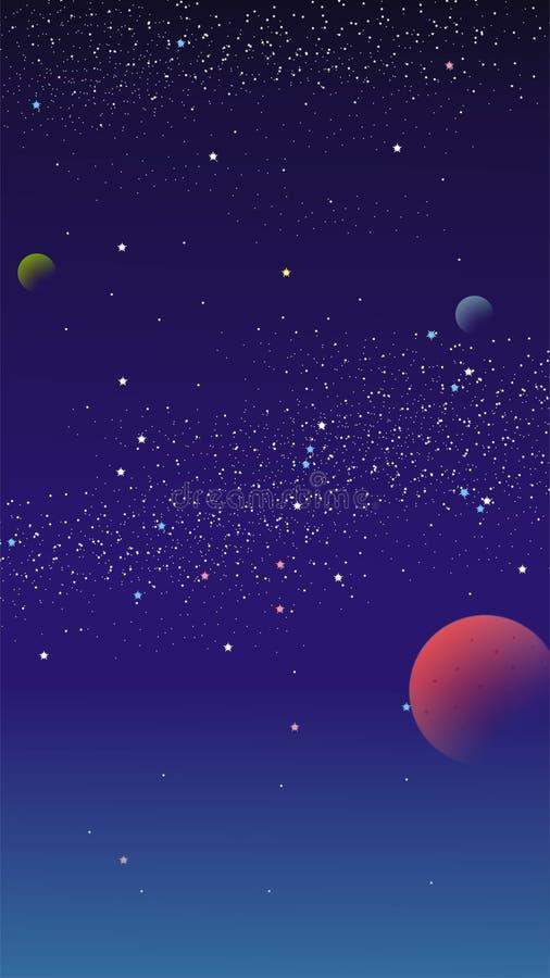 Небо вектора стоковая фотография rf