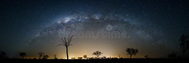 Небо вполне звезд стоковые фотографии rf