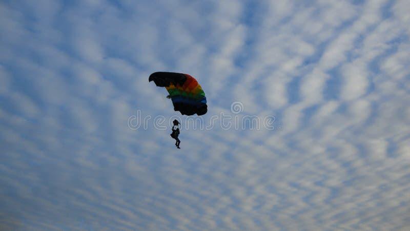 Небо в Mielec стоковые изображения