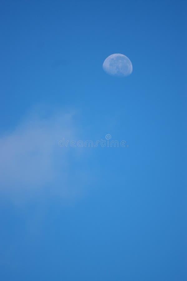 небо голубой луны стоковые изображения rf