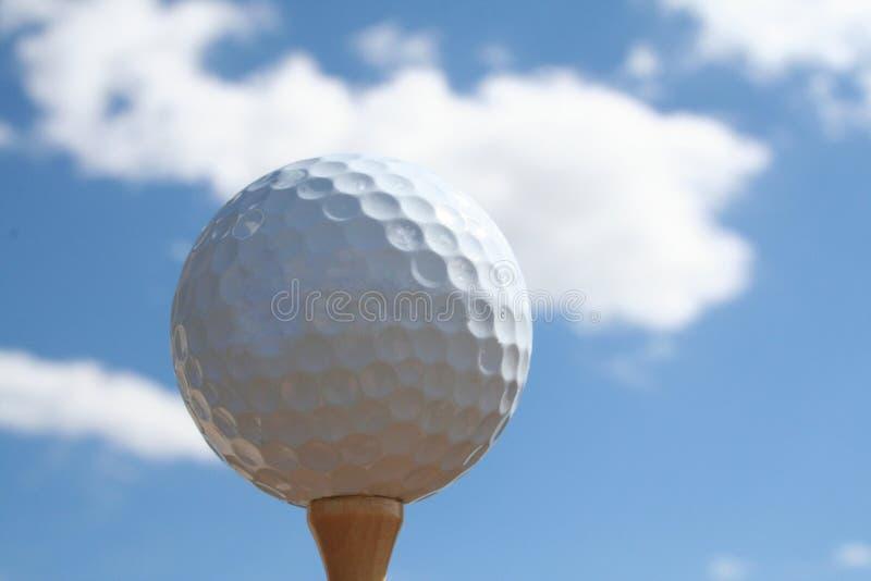 небо гольфа стоковые фотографии rf