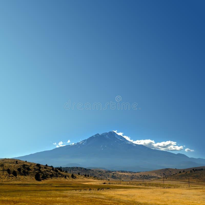 небо горы copyspace пустое стоковые фотографии rf