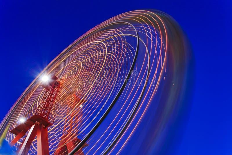 Небо закрутки колеса парома Сиднея стоковое изображение