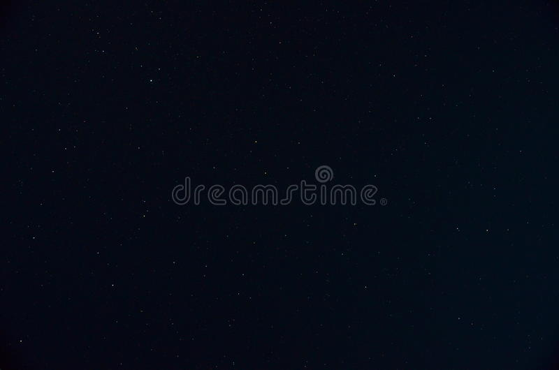 Небо звезды ночи стоковая фотография rf