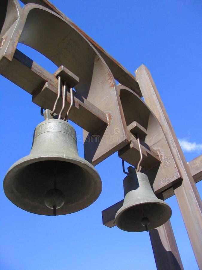 небо колоколов стоковые изображения