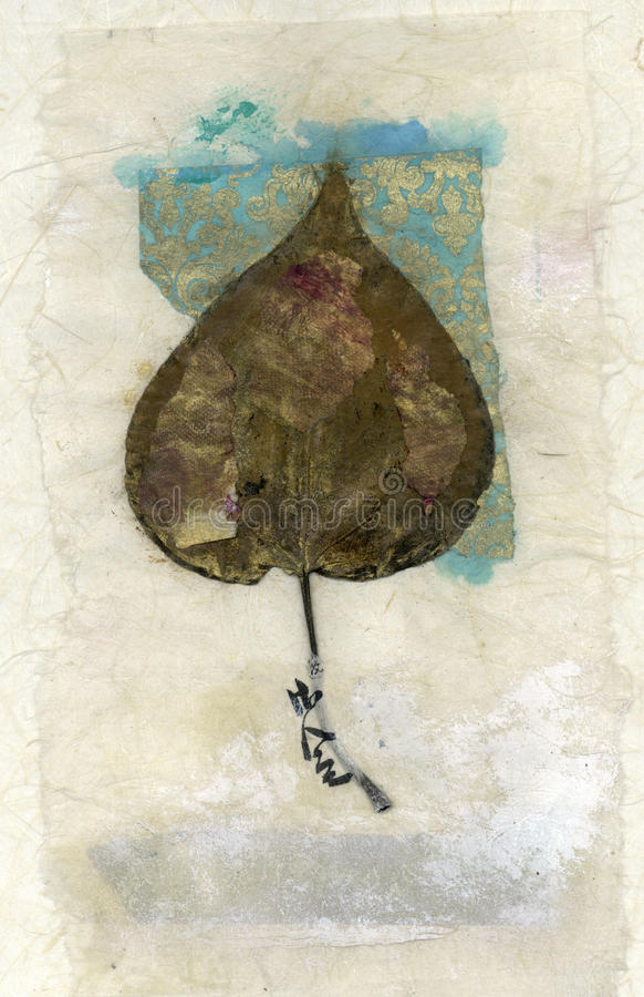 небо листьев искусства стоковые изображения