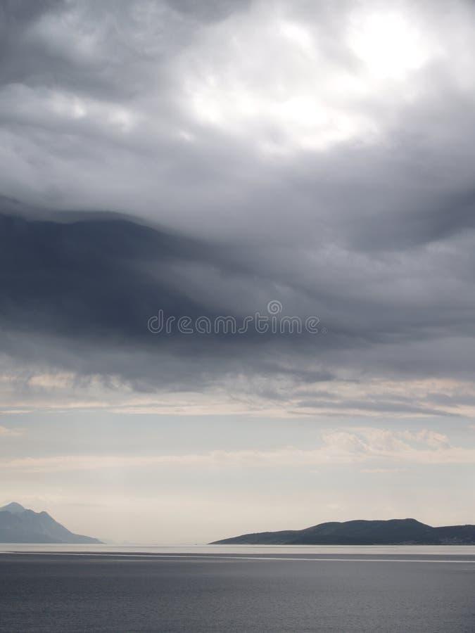 небо моря стоковые изображения rf