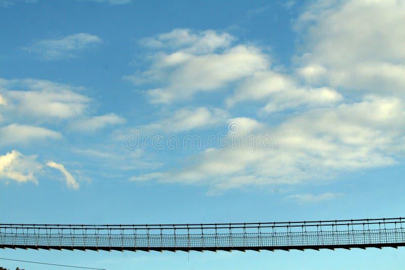 небо моста стоковые изображения