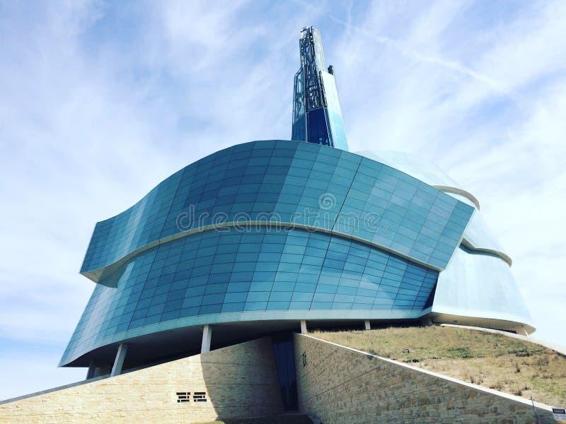 Небо музея стоковое изображение
