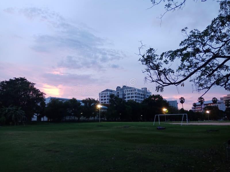 Небо над всем стоковое фото rf