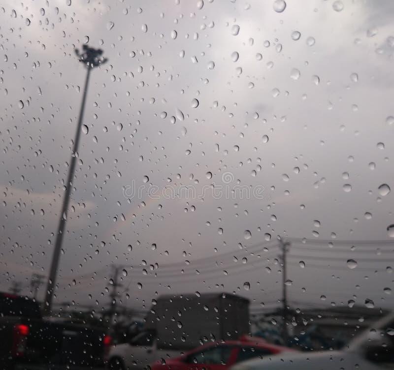 Небо на дождливый день стоковая фотография