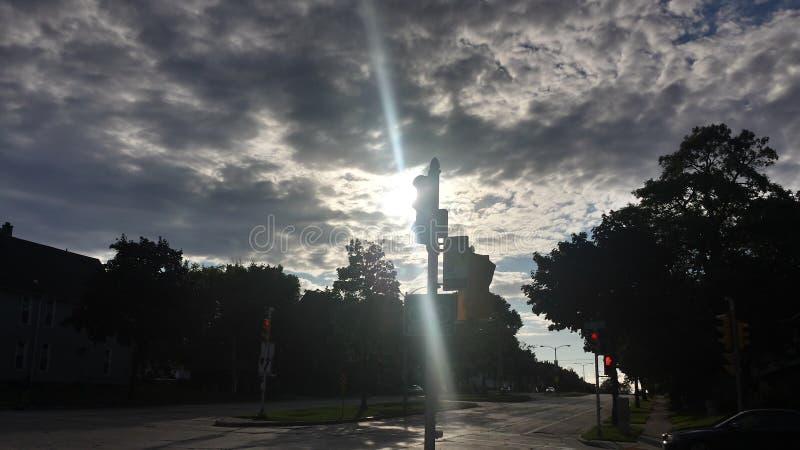 Небо дневного света стоковые фотографии rf