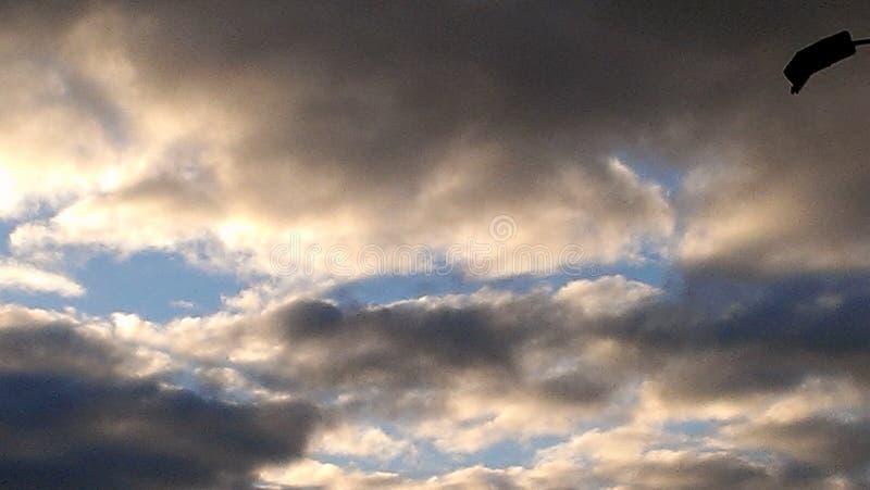 Небо от земли стоковая фотография rf