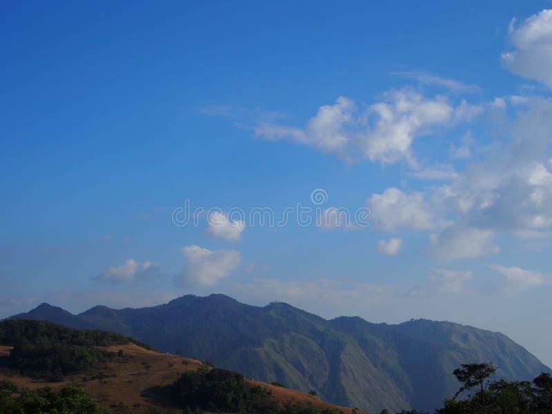 Небо понедельник Klui Таиланд стоковые изображения rf