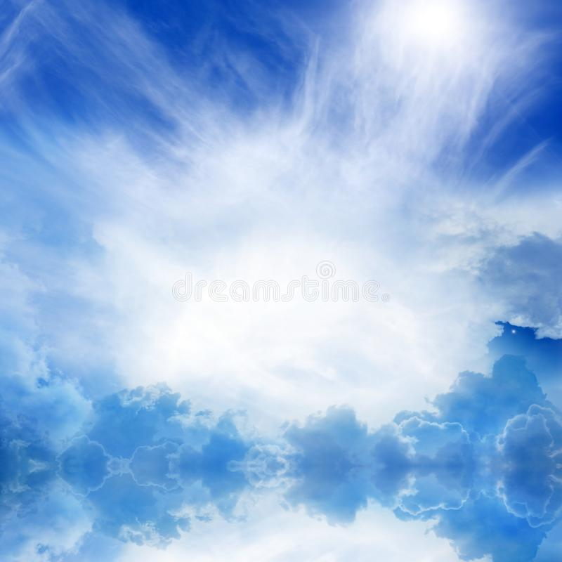 небо рая стоковое фото rf