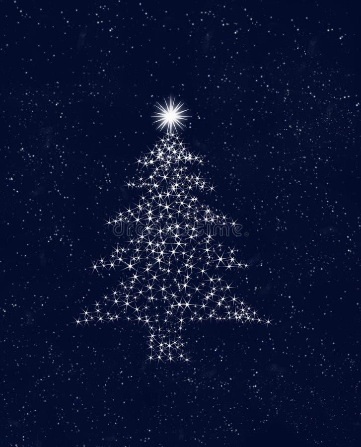 небо рождества играет главные роли вал иллюстрация штока