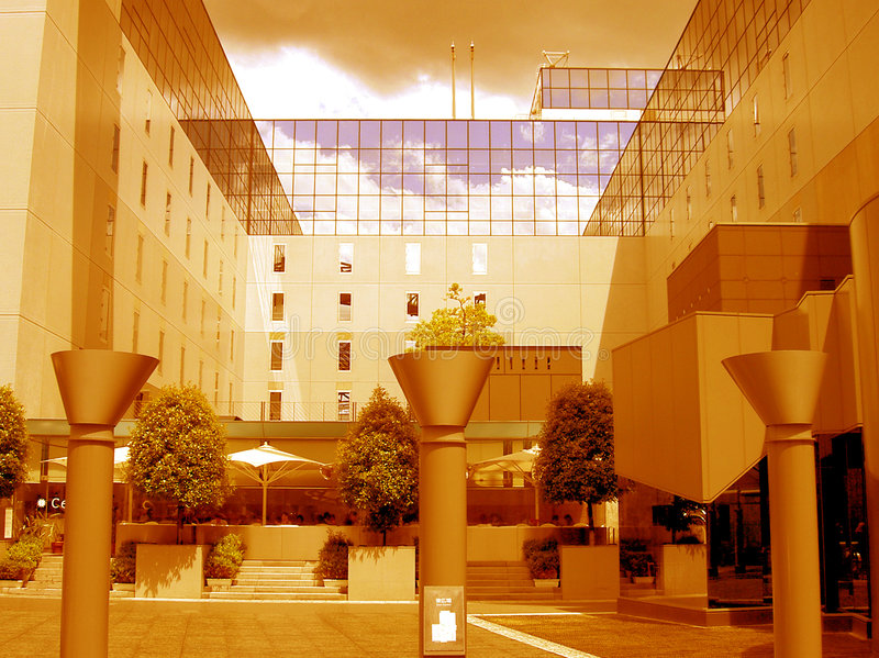 небо сада стоковая фотография rf