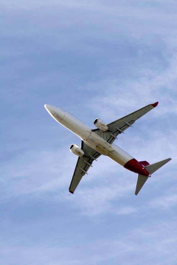 небо самолета стоковые фотографии rf