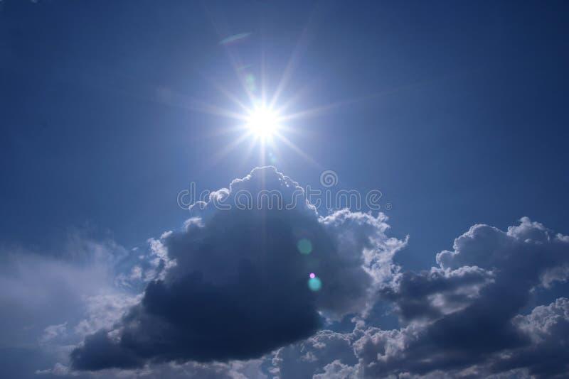небо темноты предпосылки стоковая фотография