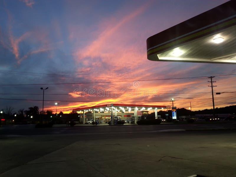 Небо Теннесси стоковое фото