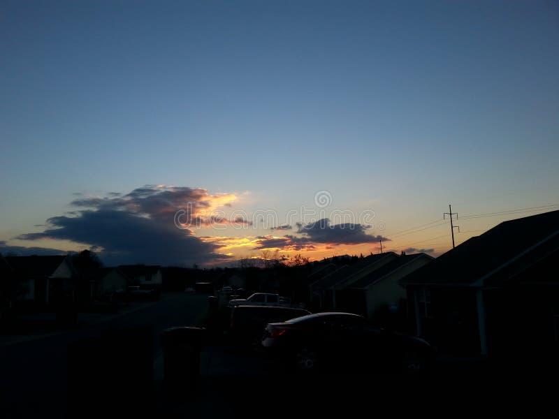Небо Теннесси стоковые изображения