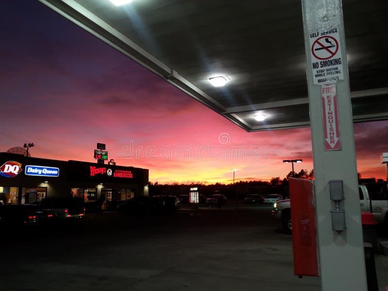 Небо Теннесси стоковое изображение rf