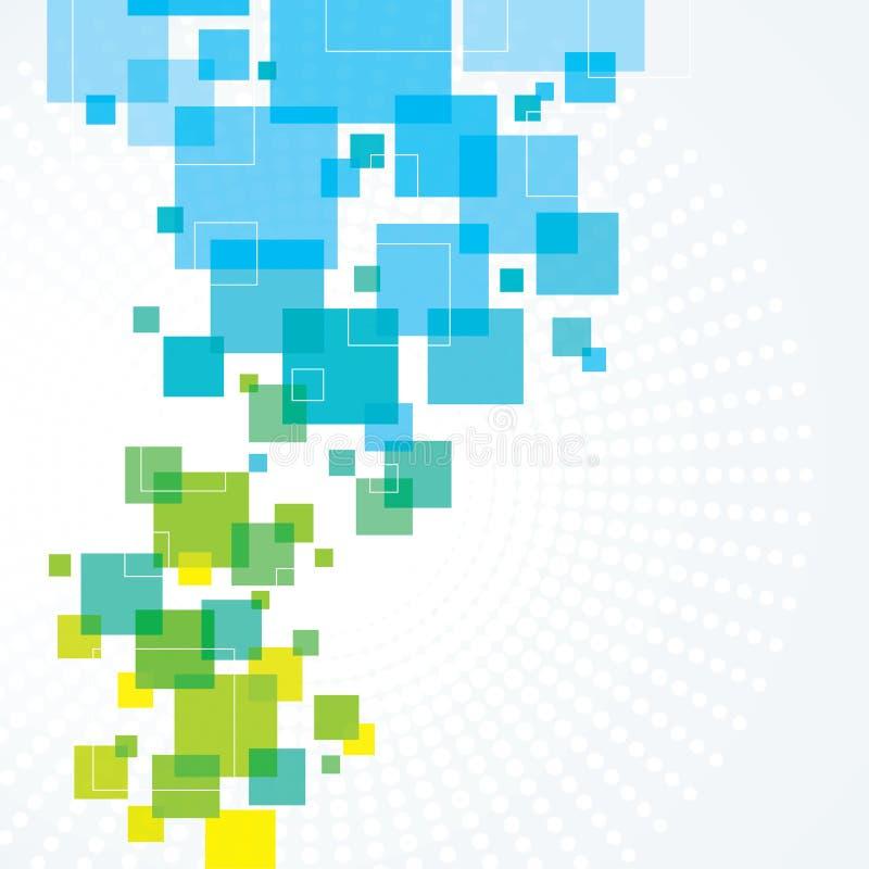 небо лужка зеленого цвета травы принципиальной схемы абстрактной предпосылки голубое бесплатная иллюстрация