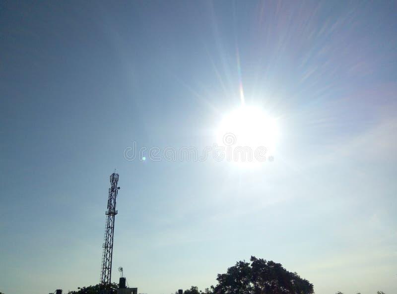 Небо утра стоковое изображение rf