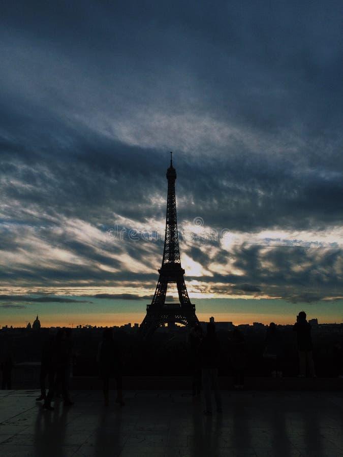 Небо Франции стоковые фото