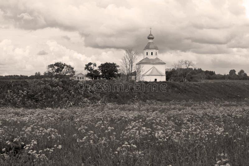 небо церков драматическое старое стоковое фото rf