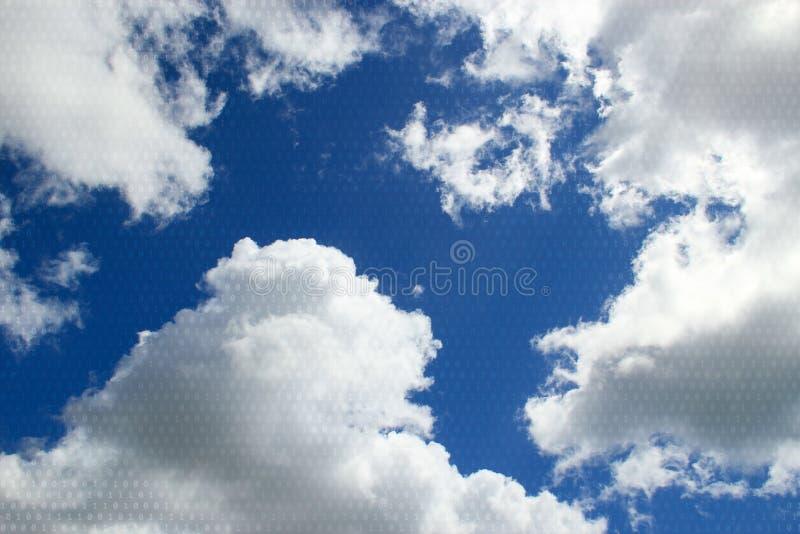 Небо цифров стоковое фото