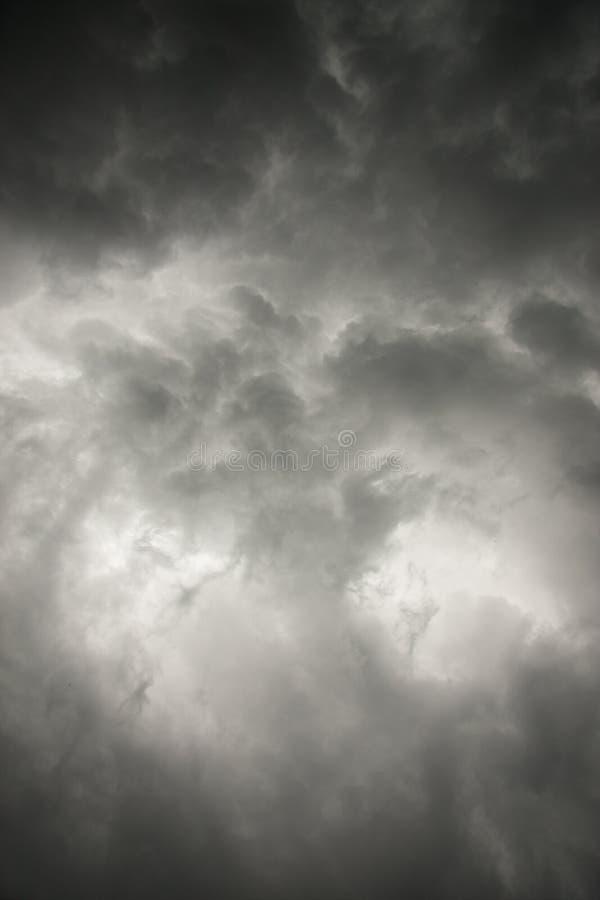 Небо шторма стоковая фотография rf