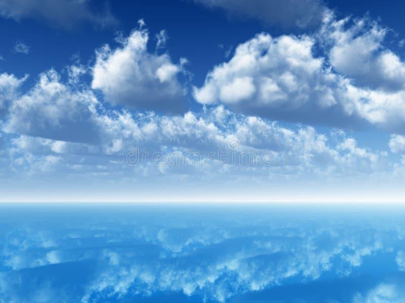 небо иллюстрация штока