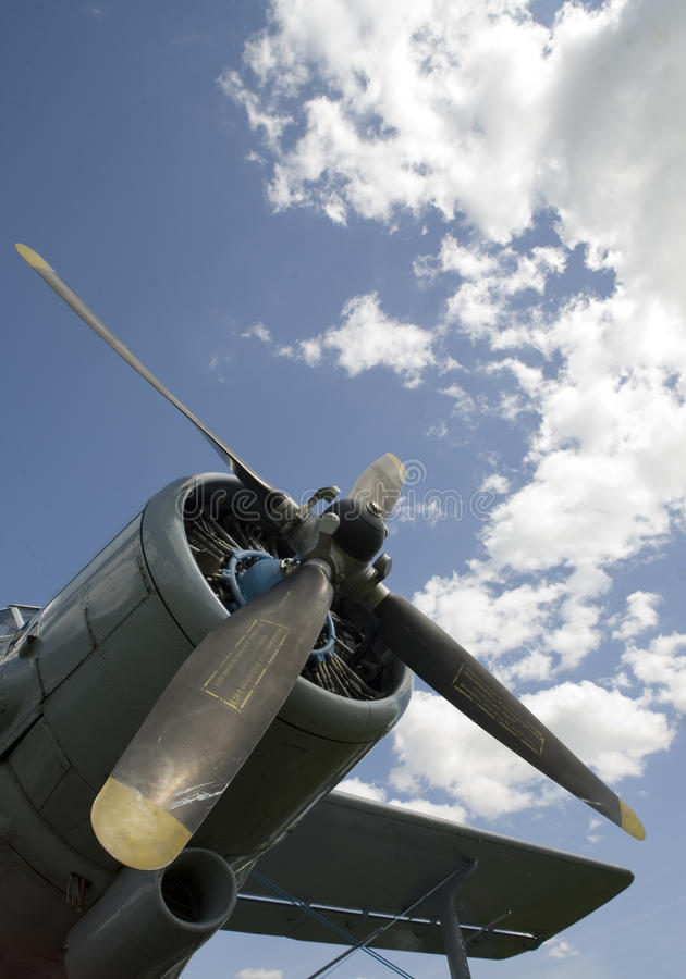 небо airscrew стоковое фото rf