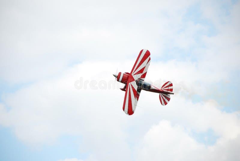небо airsow самолета стоковое фото rf