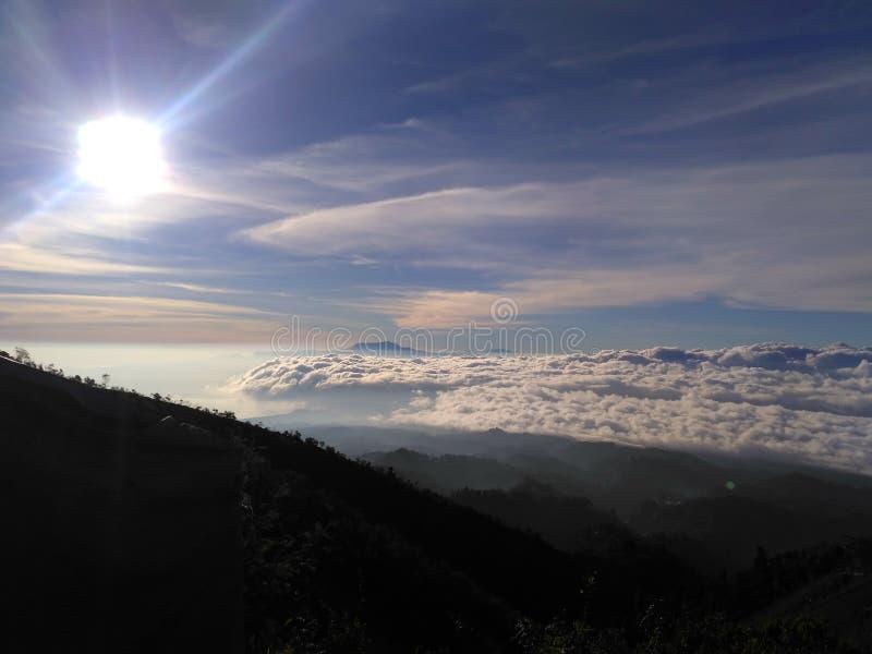 Небо B29 стоковая фотография
