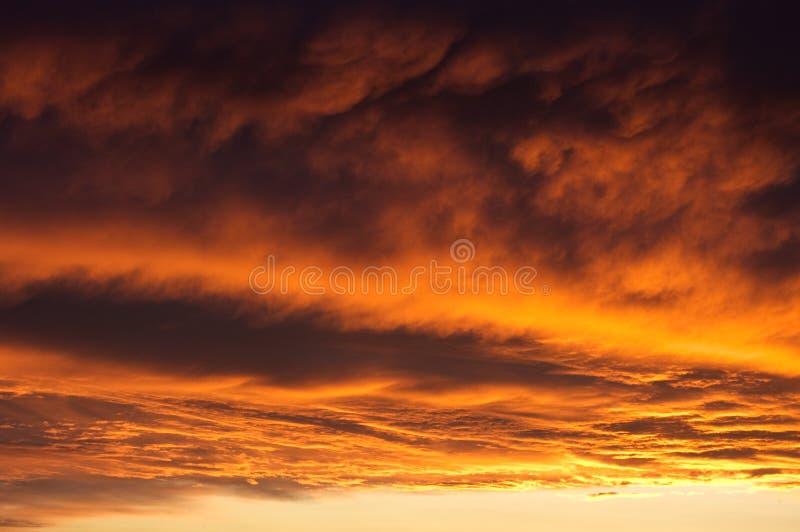 небо dramatics стоковые изображения
